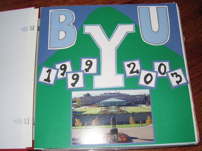 I attended BYU from summer term of 1999 until I graduated in August of 2003.  Those four years were the best of my life!